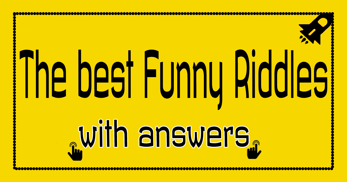 best funny riddles with answers