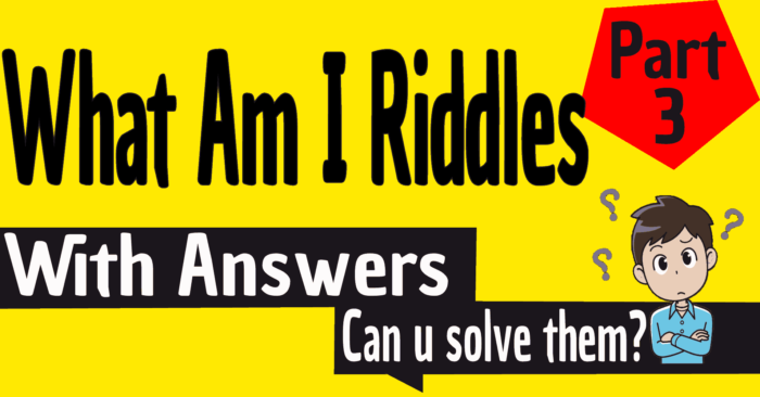 What Am I Riddles With Answers