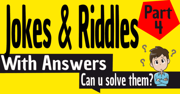 Jokes And Riddles With Answers