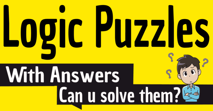Logic Puzzles With Answers