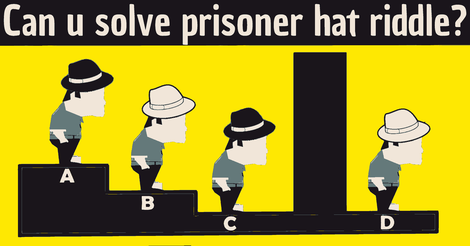 the prisoner hat riddle / the prisoner hat riddle answer / prisoner riddle black white hat / 4 hats riddle answer / 4 prisoner hat riddle answer / google prisoner hat riddle / what is the answer to the prisoner hat riddle / answer to the prisoner hat riddle / google prisoner riddle
