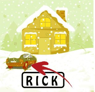 there was a theft on a snowy day riddle answer