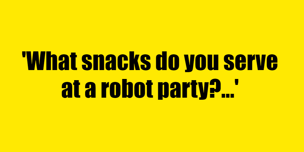What snacks do you serve at a robot party? - Riddle Answer