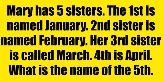 #mary's father has five sisters  riddle #mary's father has 5  sisters  riddle answer #if mary has 5 sisters  #mary's dad has 5 sisters riddle #mary's father has five sisters riddle